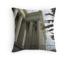 Columns, National Archives Throw Pillow