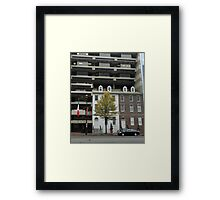 Building Upon History Framed Print