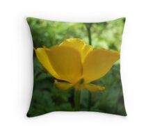 Buttercup Aglow Throw Pillow