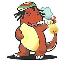 Charmander Smoking Weed by DrPonie