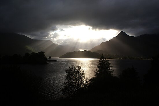 Morning sun, Loch Leven by Gary Eason