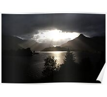 Morning sun, Loch Leven Poster