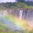 Iguazu Rainbows by buttonovski