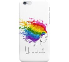 Homosexual flag iPhone Case/Skin