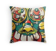 ControlBot Throw Pillow