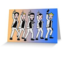 Backstreet Boys Greeting Card