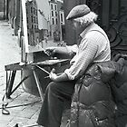 Belgian Street Painter by Sam Davis