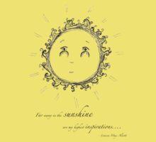 Sunshine Tee by Rosie Harriott