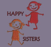 FOR KIDS - HAPPY SISTERS-  Art + Products Design  Kids Clothes
