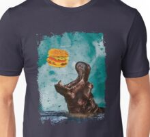 Hippo's Hamburger Dinner Unisex T-Shirt