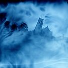 spooky church by Soxy Fleming