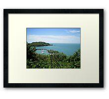 an awesome Suriname landscape Framed Print