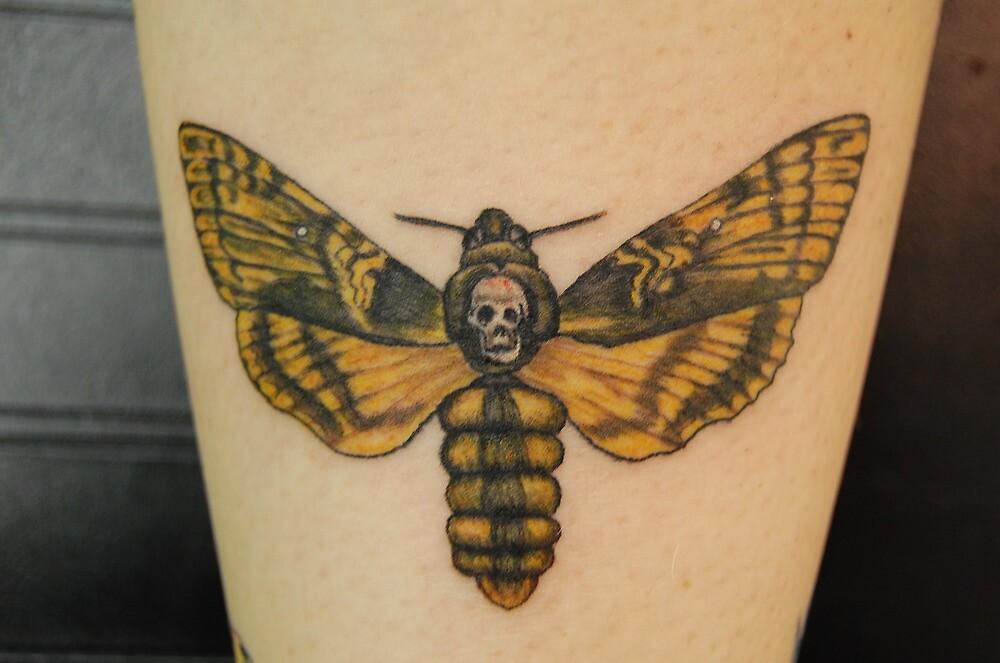 Quot Death Head Hawk Moth Quot Death Moth Quot Tattoo Quot By Bellastarr