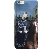 Bull Terrier Art - Gerrit Berckheyde iPhone Case/Skin