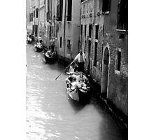 Gondola Traffic Photographic Print