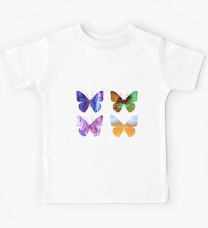 Watercolor Butterflies 2 Kids Tee