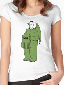 Cthulhu Mascot Women's Fitted Scoop T-Shirt
