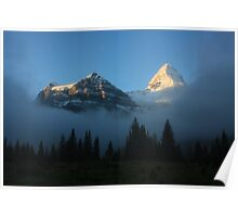 Morning After...Mt Assiniboine at Dawn Poster