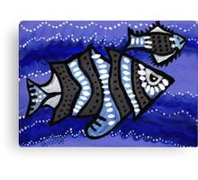 Tribal Fish  Canvas Print