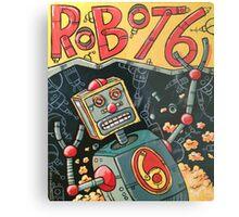 Robot 6 Metal Print