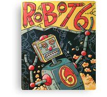 Robot 6 Canvas Print