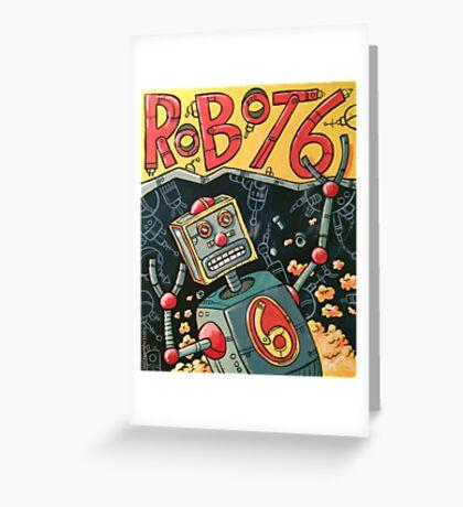 Robot 6 Greeting Card