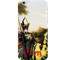 Bull Terrier Art - The Past iPhone Case/Skin