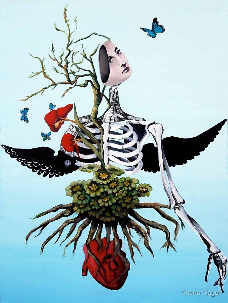 Life in Death  by Cherie  Sayer