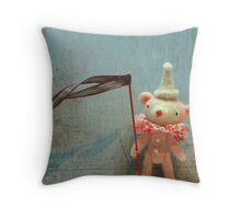 Little Poppets by Susan Mitchell Throw Pillow