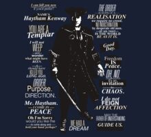 Haytham Kenway Quotes by Lily Newman