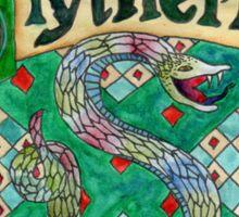 Slytherin House Crest Sticker