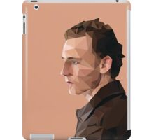Tom Hiddleston - Low Poly iPad Case/Skin