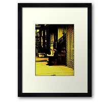 Tattoo Guy, St. Mark's Place NYC Framed Print