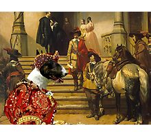 Bull Terrier Art - Scene from Musketeers Life Photographic Print
