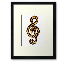 The Boa Conductor Framed Print