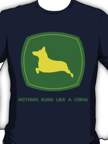 Nothing runs like a corgi geek funny nerd T-Shirt