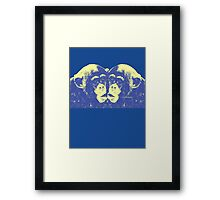 Monkey Kiss Framed Print