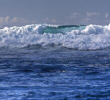 Wave of Blue by Cathy L. Gregg