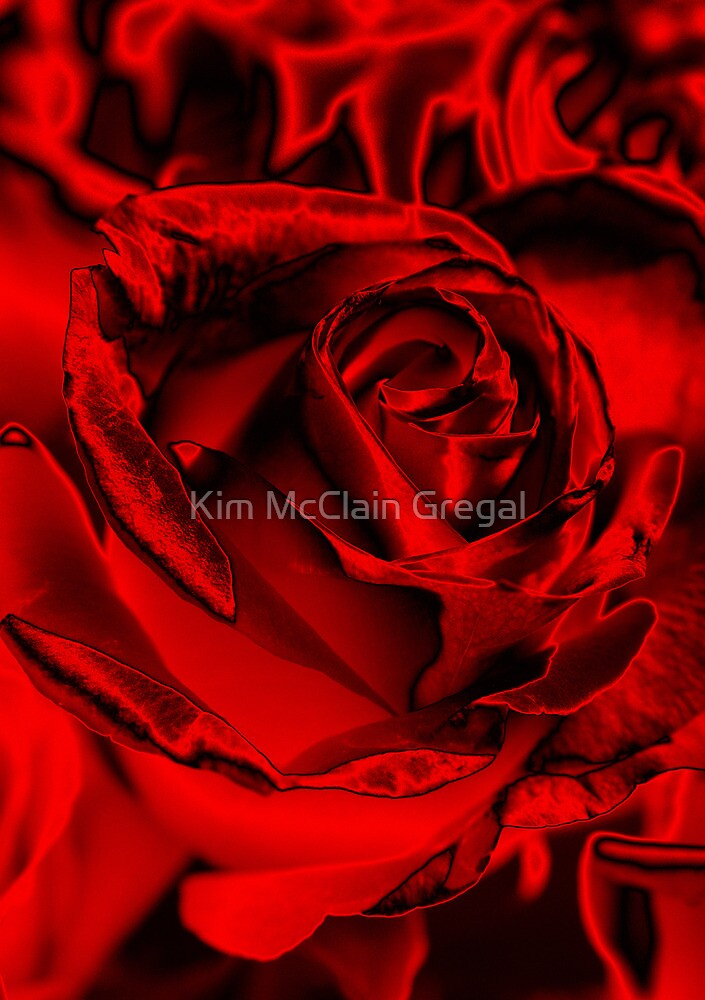 Red for the Holidays by Kim McClain Gregal
