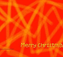 Abstract Design - Merry Christmas by diLuisa Photography