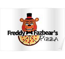 Modern Five Nights at Freddy's Logo Poster
