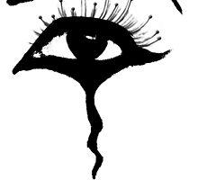 Black teardrop 2 by Ghelly
