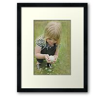 Finding Nature Framed Print
