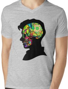 Alex Turner - Psychedelic Mens V-Neck T-Shirt