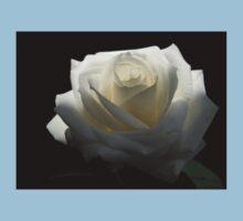 White White Rose Kids Clothes