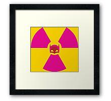 Batman's Contaminated Cowl Framed Print