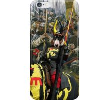 Bull Terrier Art - Win or Die! iPhone Case/Skin