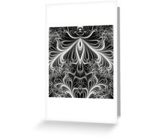 Gothic fractal Greeting Card
