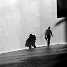 Man and his shadow by Elizabeth McPhee