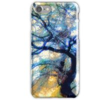 Composition With Trees, Branches, Leaves and Sky  iPhone Case/Skin
